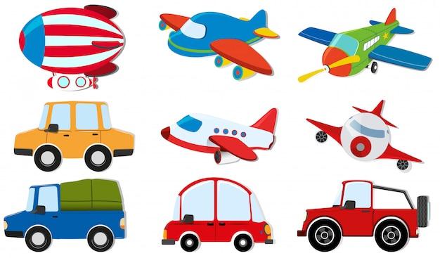 Diferentes tipos de transporte