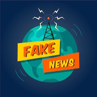 Difusão de notícias falsas