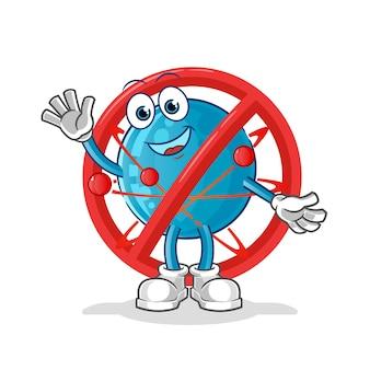 Diga não ao mascote do átomo