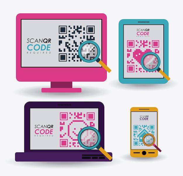 Digitalizar design de código qr