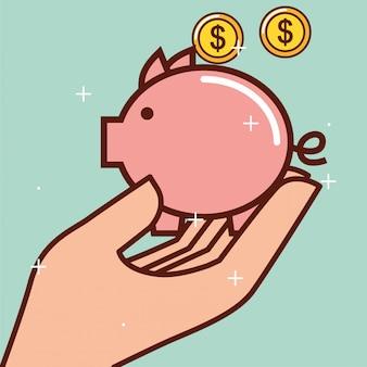 Dinheiro cofrinho