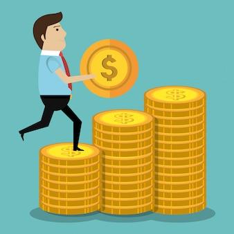 Dinheiro e investimento empresarial