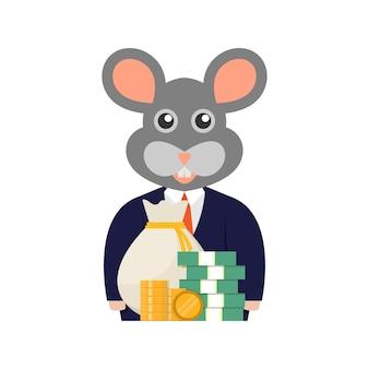 Dinheiro e rato