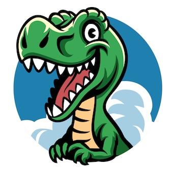Dino fofo alegre