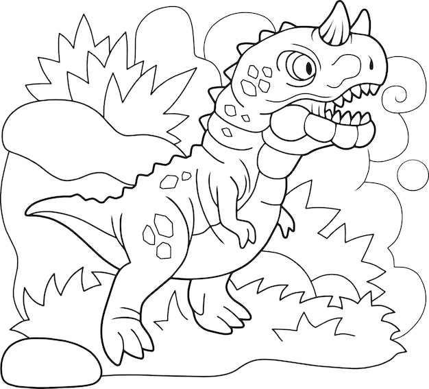 Dinossauro carnotauro