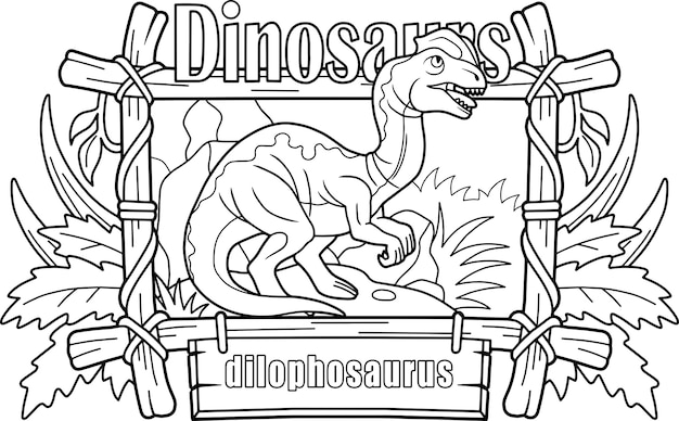 Dinossauro dilofossauro