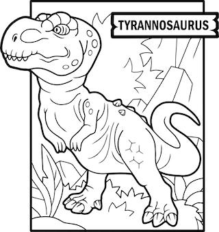 Dinossauro tiranossauro