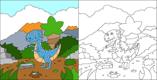 Dinossauros para colorir para crianças