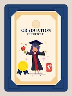 Diploma de graduação.