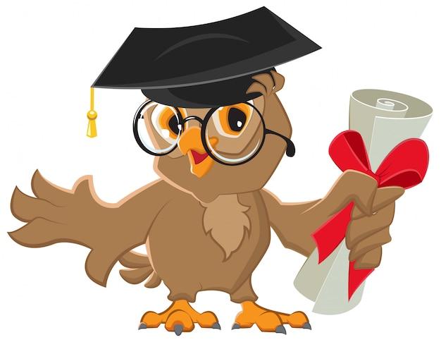 Diploma de uma coruja