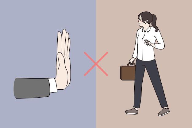 Discriminação de gênero de mulheres no local de trabalho