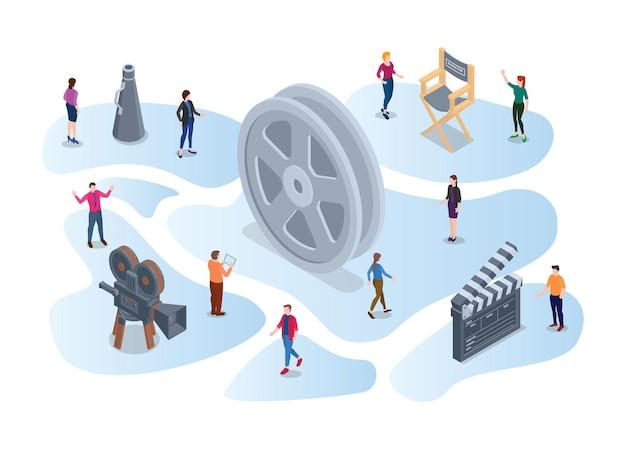 Discussão de grupo focal para filme