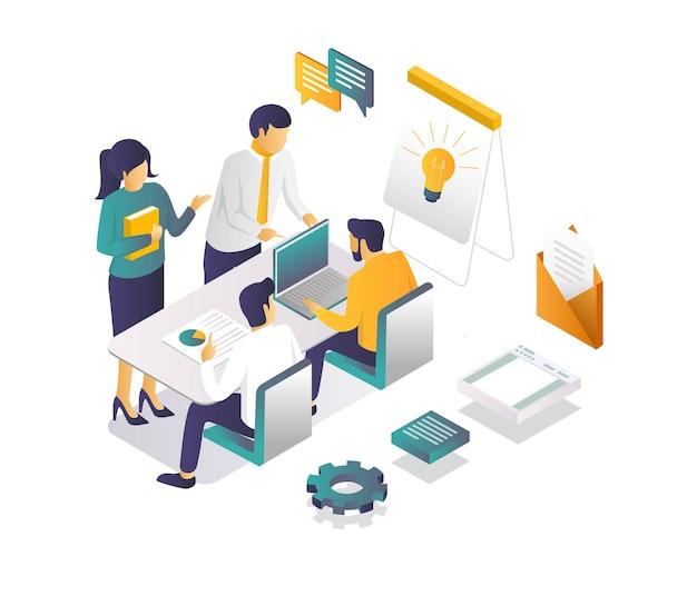 Discussão para desenvolvimento de negócios