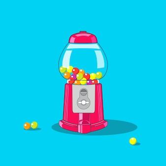 Dispensador de goma de bolha