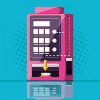 Dispensador de máquina de bebidas eletrônica
