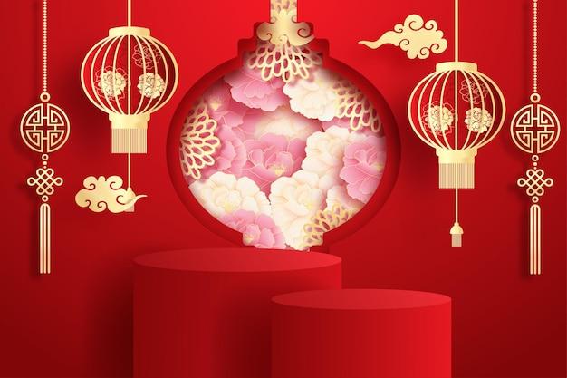 Display de produto chinês