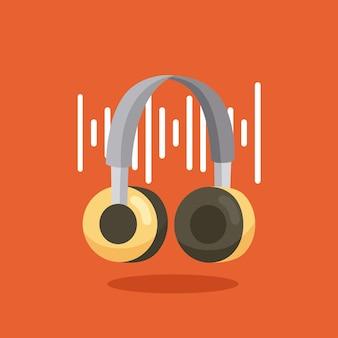 Dispositivo de fone de ouvido com espectro