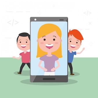 Dispositivo de tecnologia de pessoas