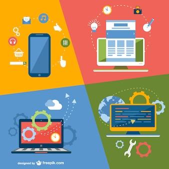 Dispositivos de tecnologia de aplicação on-line