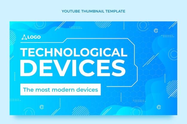 Dispositivos de tecnologia de fluido gradiente miniatura do youtube