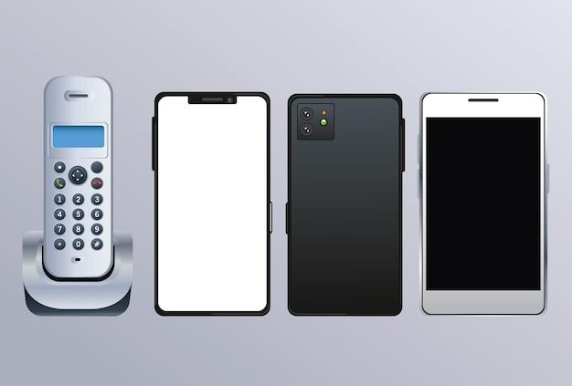 Dispositivos de telefone e smartphones sem fio