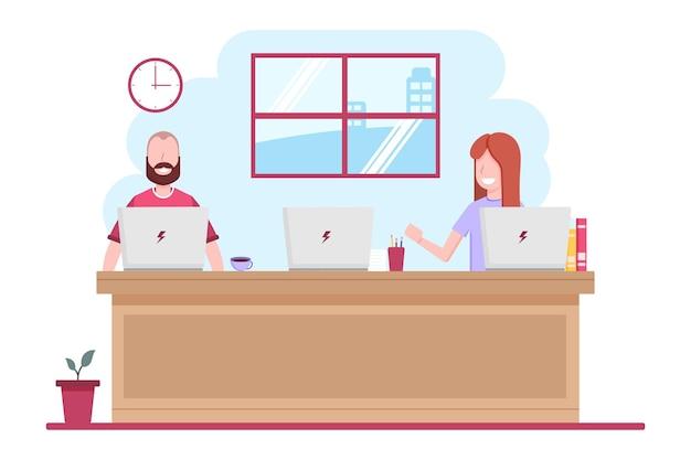 Distanciamento social em um tema de reunião
