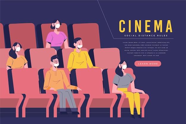 Distanciamento social no cinema