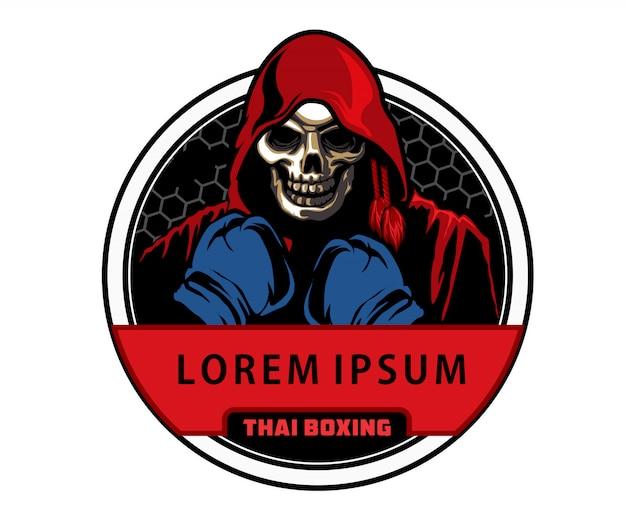 Distintivo de boxe tailandês