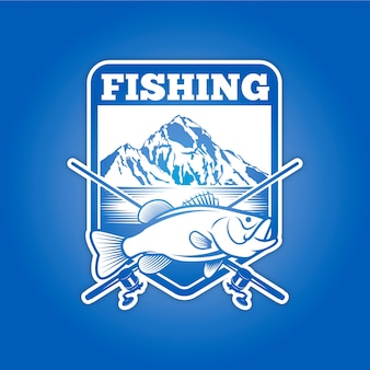 Distintivo de pesca