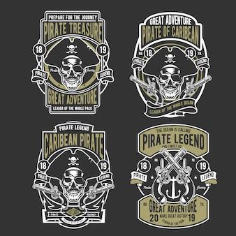 Distintivo de piratas