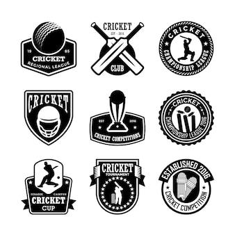 Distintivos de cricket