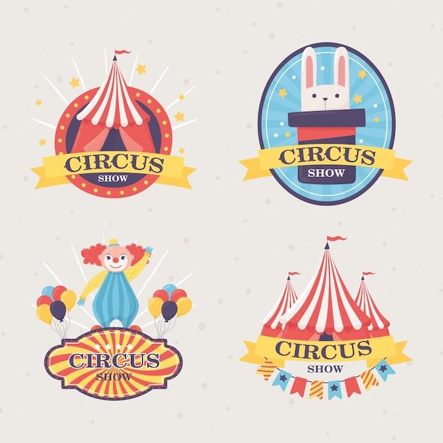 Distintivos de espetáculo de circo
