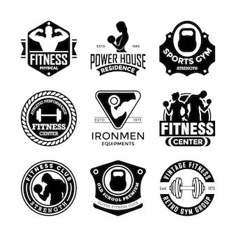 Distintivos de fitness