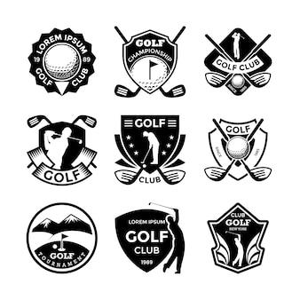 Distintivos de golfe