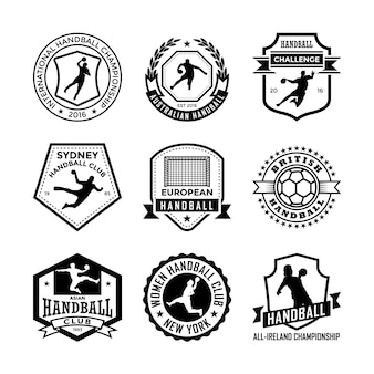 Distintivos de handball