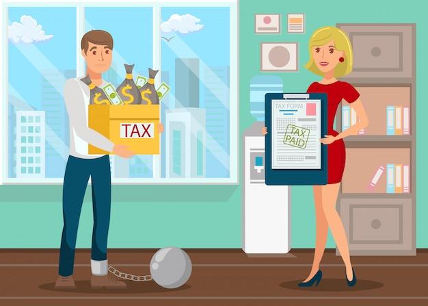Dívida bancária, pagamento de impostos