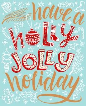 Divirta-se com as letras do feriado