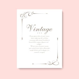 Divisor de página vintage decorativo e elementos do vetor de ornamentos de redemoinho caligráfico.