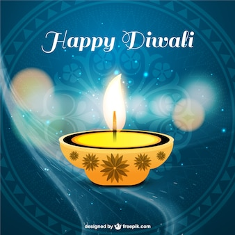 Diwali belo cartões vetor