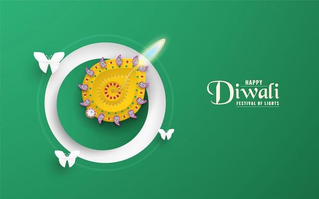 Diwali é um festival de luzes hindus.
