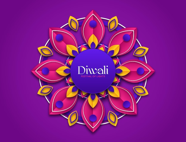 Diwali em estilo jornal