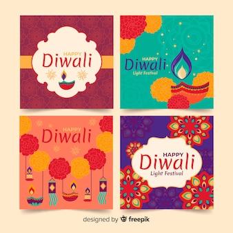Diwali instagram post coleção