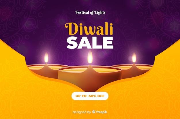 Diwali venda com desconto