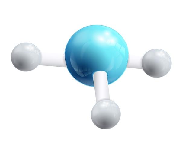 Dna e molécula 3d