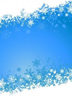Do natal de grunge na cor azul
