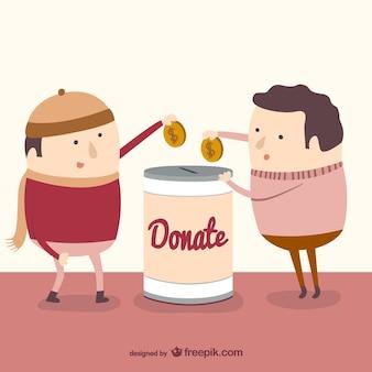 Doação de caridade