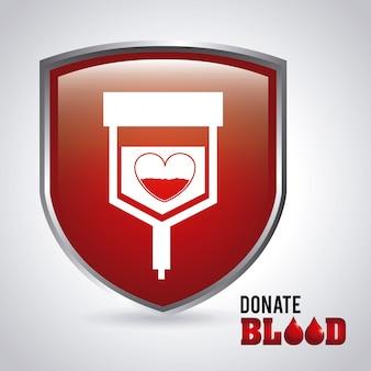 Doar sangue design