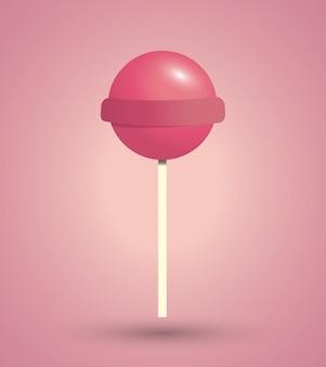 Doces ícone doce ilustração do conceito de sobremesa
