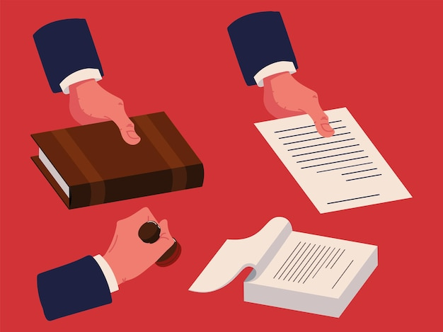 Documentos de certificados notariais