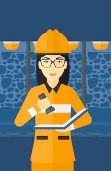 Documentos de verificação de mineiro